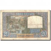 France, 20 Francs, 20 F 1939-1942 Science et Travail, 1941, 1941-02-20