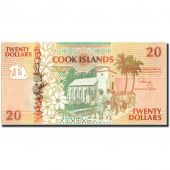 Cook Islands, 20 Dollars, Undated (1992), KM:9a, UNC(65-70)