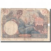 Banknote, France, 50 Francs, 1947 French Treasury, 1947, 1947, VG(8-10)