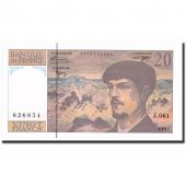 Billet, France, 20 Francs, 20 F 1980-1997 Debussy, 1997, 1997, SPL+