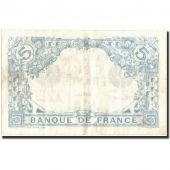 France, 5 Francs, 5 F 1912-1917 Bleu, 1915, 1915-08-11, KM:70, TB+