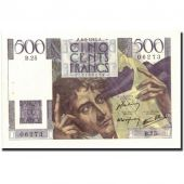 France, 500 Francs, 500 F 1945-1953 Chateaubriand, 1945, KM:129a