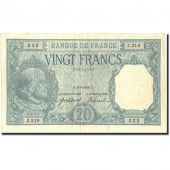 France, 20 Francs, 20 F 1916-1919 Bayard, 1916, KM:74, 1916-08-03