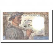 France, 10 Francs, 10 F 1941-1949 Mineur, 1942, 1942-10-15, KM:99d, SUP+