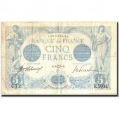 France, 5 Francs, 5 F 1912-1917 Bleu, 1915, KM:70, 1915-05-28, VF(30-35)