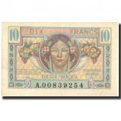 France, 10 Francs, 1947 French Treasury, 1947, KM:M7a, 1947, UNC(63)