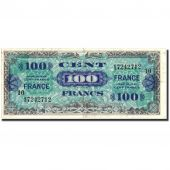 France, 100 Francs, 1945 Verso France, 1945, 1945, KM:123e, TTB, Fayette:VF25.10