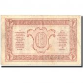 France, 1 Franc, 1917-1919 Army Treasury, 1919, 1919, AU(50-53), Fayette:VF4.7