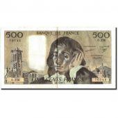 France, 500 Francs, 500 F 1968-1993 Pascal, 1987, 1987-01-08, AU(50-53)