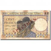 Banknote, French Equatorial Africa, 100 Francs, Undated (1941), Undated