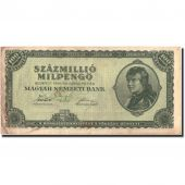 Billet, Hongrie, 100 Million Milpengö, 1946, 1946, KM:130, TTB