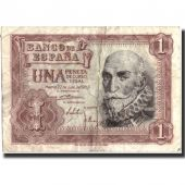 Billet, Espagne, 1 Peseta, 1953, 1953-07-22, Specimen, KM:144a, TB+
