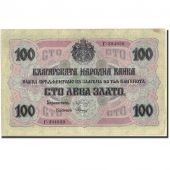 Billet, Bulgarie, 100 Leva Zlato, 1916, 1916, KM:20b, TTB+