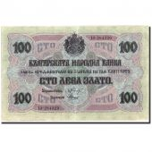Billet, Bulgarie, 100 Leva Zlato, 1916, 1916, KM:20b, TTB