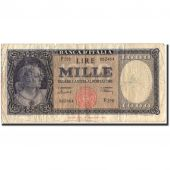 Banknote, Italy, 1000 Lire, 1947, 1947-08-14, KM:82, VF(20-25)