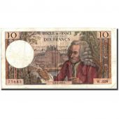 France, 10 Francs, 10 F 1963-1973 Voltaire, 1967, 1967-04-06, VF(30-35)