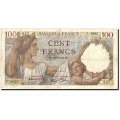 France, 100 Francs, 100 F 1939-1942 Sully, 1941, 1941-01-30, TB+