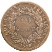 Charles X, 10 Centimes