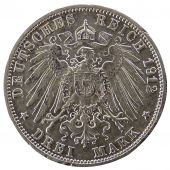 Friedrich II, Germany, Baden, 3 Mark