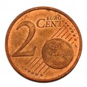 Vth Republic, 2 Centimes d'Euro with mistake