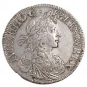 Louis XIV, Ecu, Youthful bust