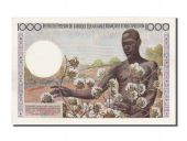 AEF and Cameroon, 1000 Francs, 1957