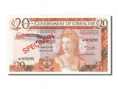 Gibraltar, 20 Pounds, 1975