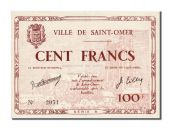 Saint-Omer, 100 Francs, 1940