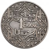 Marocco, Moulay Yussef Ist, 1 Francs Undated