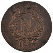 First Empire, Siege  of Anvers, 5 Centimes Napoleon Ist