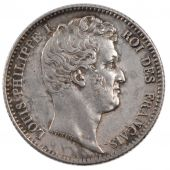 Louis Philippe Ist, 1 Franc naked head