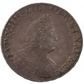 Louis XIV, 1/2 Ecu with insignia bust type with palms