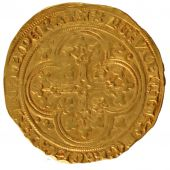 John II the Good, gold Ecu with chair