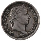First Empire, Quart de Franc laureate negro head
