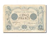 5 Francs type black