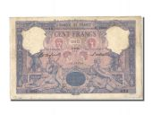 100 Francs type blue and pink
