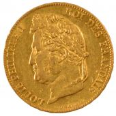 Louis Philippe I, 20 Francs or laureate head
