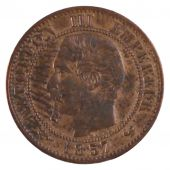 Second Empire, 1 Centime Napoléon III with naked head