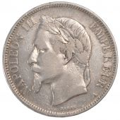 Second Empire, 5 Francs Napoléon III with laureate head