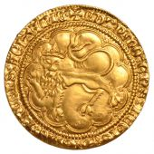 AQUITAINE, Edouard III, Retyping of gold leopard