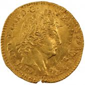 Louis XIV, Louis d'or with 8 L and royal insignia