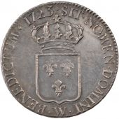 Louis XV, Ecu de France, 1723 W, PCGS AU55