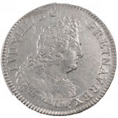 Louis XIV, 1/2 Ecu aux 8 L second type