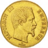 Second Empire, 100 Francs Napoleon III naked head