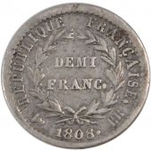 First Empire, Demi Franc in reverse Republic