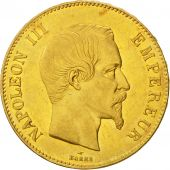 Second Empire, 100 Francs or Napoléon III tête nue