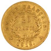 First Empire, 20 Francs or in reverse Empire