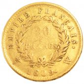Premier Empire, 20 Francs or reverse Empire