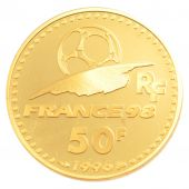V �me R�publique, 50 Francs Or, Coupe du monde 1998