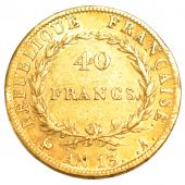 First Empire, 40 Francs or Napoleon Emperor